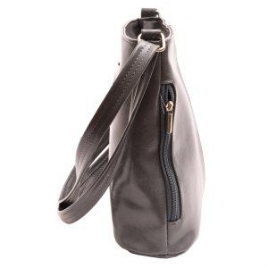 Dámska crossbody kabelka šedá