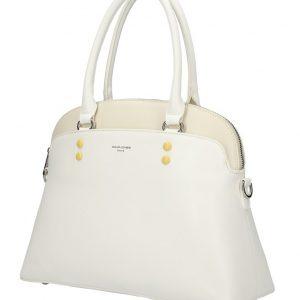 DAVID JONES biela oblá dámska kabelka do ruky
