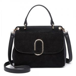 Originálna čierna menšia dámska kabelka Miss Lulu