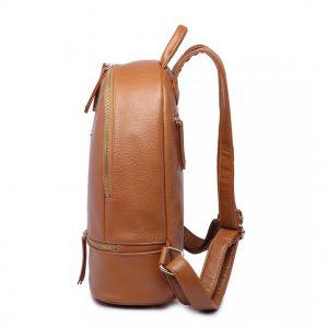Hnedý dámsky elegantný batoh Miss Lulu