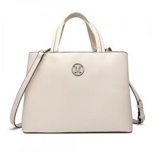 Béžová dámska elegantná kabelka Miss Lulu