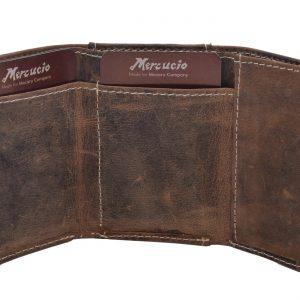 Malá peňaženka kožená hnedá