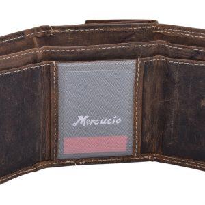 Malá kožená peňaženka Tan