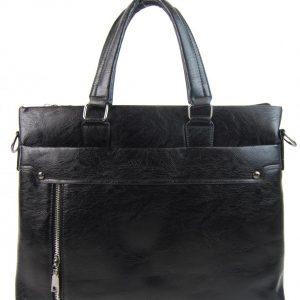 Čierna pánska aktovková taška WILD