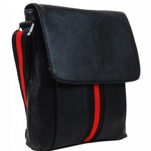 Čierna pánska crossbody taška