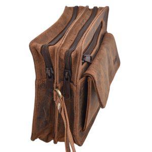 Pánska etue taška Tan