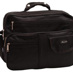 Pánska pracovná taška textilná čierna