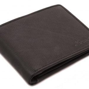 Peňaženka pánska matná čierna