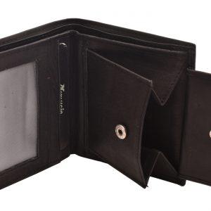 Pánska peňaženka kožená čierna