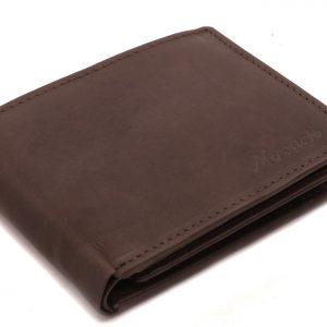 Peňaženka pánska prešívaná hnedá