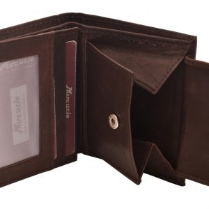 Pánska kožená peňaženka hnedá