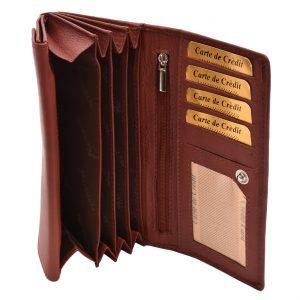 Dámska peňaženka koňak