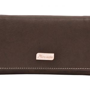 Dámska peňaženka hnedá/koňak
