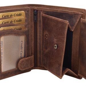 Pánska peňaženka svetlohnedá