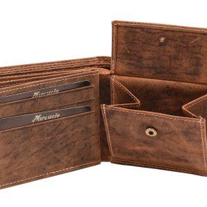 Peňaženka pánska Tan vzorová hnedá