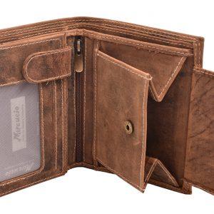 Pánska kožená peňaženka Tan