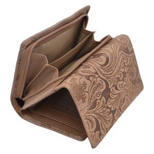 Dámska peňaženka RFID béžová