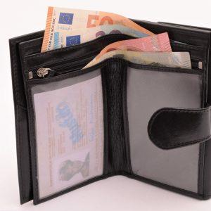 Dámska peňaženka RFID čierna