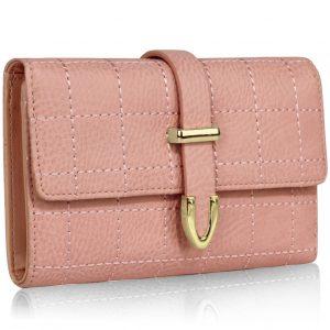 Peňaženka Evellin-Ružová
