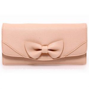 Peňaženka Ribbon-Slabo Ružová