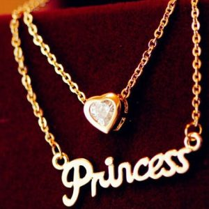 Náhrdelník Prince-Zlatá