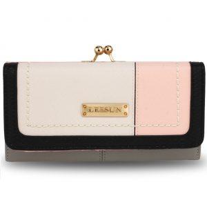 Peňaženka Lusum-Sivá
