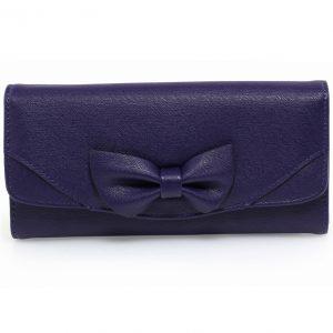 Peňaženka Ribbon-Modrá