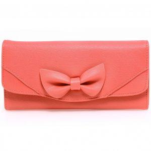 Peňaženka Ribbon-Ružová