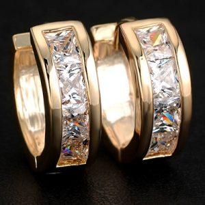 Náušnice Arche gold-Zlatá