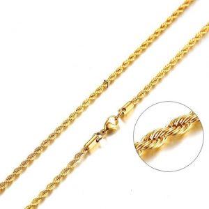 Pánska Retiazka Zlatá 45cm