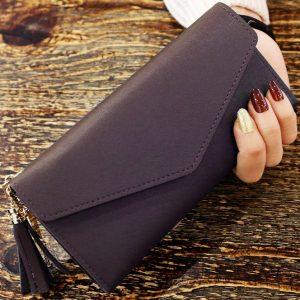 Peňaženka Kara-Tm.Hnedá