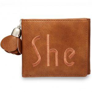 Peňaženka Her-Hnedá