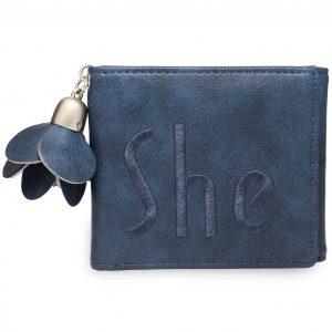Peňaženka Her-Modrá