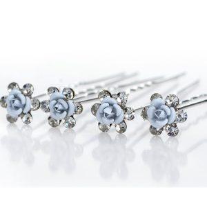Vlásenka Blue Crystal Flower KP1572