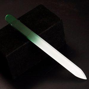 Veľký sklenený pilník-Zelená KP4476