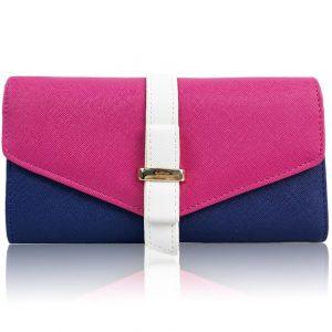 Peňaženka Sun Violet-Ružová/Modrá