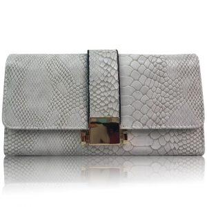 Peňaženka Nelly-Sivá