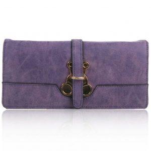 Peňaženka Small Fialová