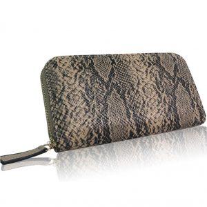 Peňaženka Tina-Hnedá/Čierna