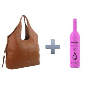AKCIA 1+1. Štýlová kabelka + kozmetický doplnok kolagén