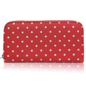 Peňaženka Mat Červená