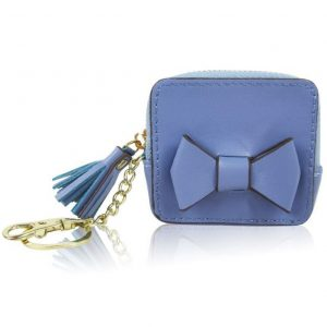 Peňaženka mincovník modrý