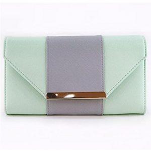 Peňaženka dámska praktická Zelená