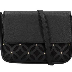 Čierna dámska crossbody kabelka
