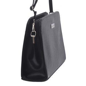 Dámska crossbody kabelka čierna