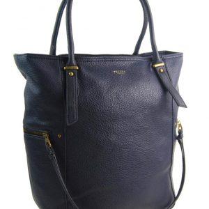 Veľká tmavo modrá dámska kabelka 5054-TS