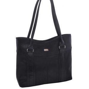 Dámska klasická kabelka čierna
