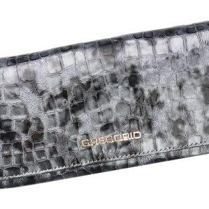 Gregorio Kožená šedá dámska peňaženka v darčekovej krabičke