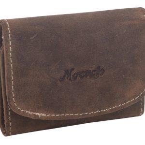Malá kožená peňaženka tmavý Tan