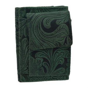 Malá peňaženka zelená